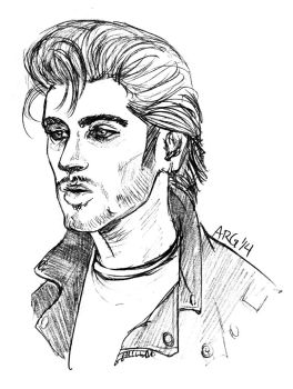 Greaser Zayn by adubioussoul