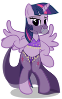 Belly Dancer Twilight Sparkle Vector by MLP-Scribbles