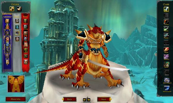 Custom WoW Race: Dragonspawn by TheWabbajackX