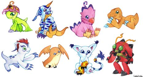 digimon by CatusSnake