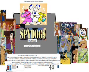 Spy Dogs The Movie (1999) Poster by hamursh