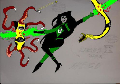 Wrath of the Shego Lantern 2.1 by VectorPrimal