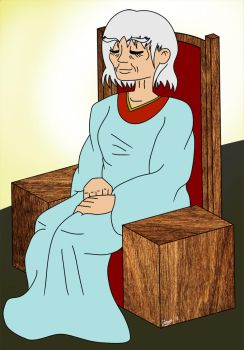Tania Old lady by Jonas-D