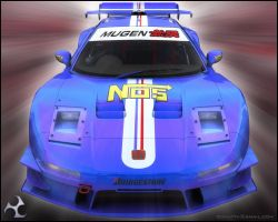Racing NSX Front by 3DnuTTa