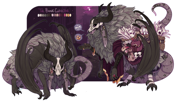 ~The Bone Collector~ (Closed) by LunarAdopts