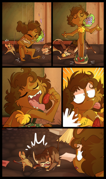 FLOWERS (Page 46) by NoasDraws