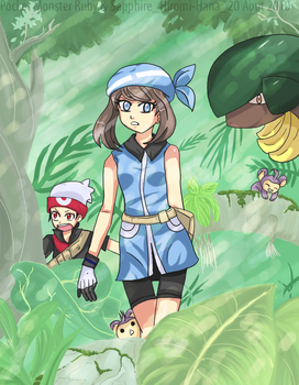 pokemon rse by hiromihana