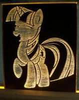 Twilight Sparkle LED Picture by steeph-k