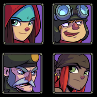 Character-portraits Bullet Age by DerekLaufman