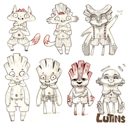 Research for lutins 2 by Leamlu