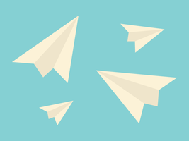 Paper Planes (Large) by apparate