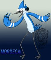 Mordecai :D by TheBig-ChillQueen