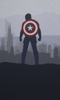 CAPTAIN AMERICA: WINTER SOLDIER - PHONE WALLPAPER by skauf99