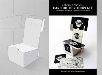 Card Holder Template by MVRH