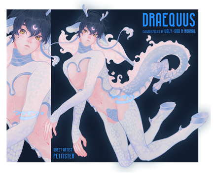 {CLOSED} GA - DRAEQUUS Design Auction by petitster