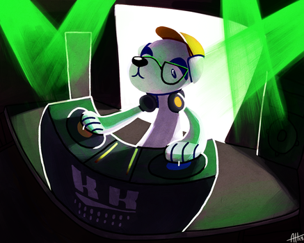 Dj K.K. by chickavree