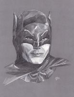 Adam West as Batman by Gossamer1970
