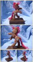 Pinkie Pie Woodwork: And She Does Evil Dances by xofox