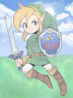 Legend of Zelda by MillyMandyMilkshake