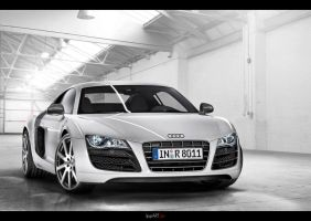 Audi r8 Wallpaper by Stan88