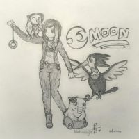 My Pokemon Moon Team | Fan Art