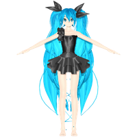 MMD: PDA Deep Sea Girl WIP by AED1234PD
