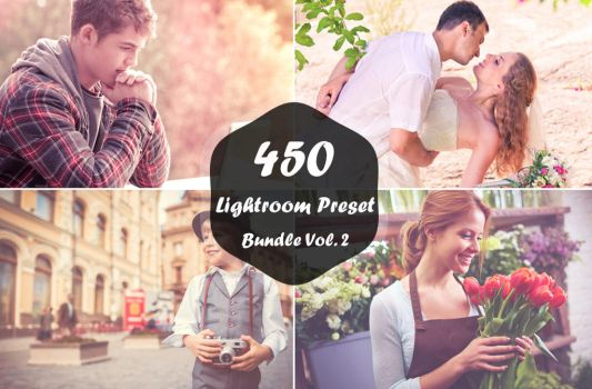 450 Lightroom Presets Bundle Vol.2 by symufa