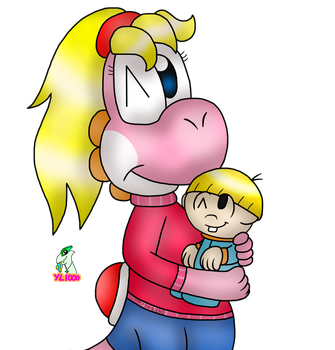 Me and Joey by yoshiLover1000