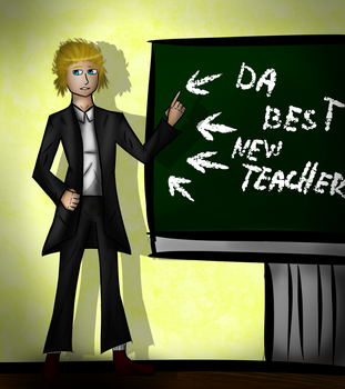 Ya new teacher by RiverWho