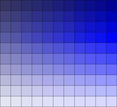 Colour Pallet Blue by Sovereignce