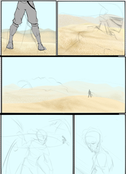 COmic Wip. by Metachion