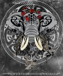 totem of elephant by SMlLE