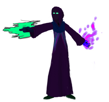 Shadow mage edited by IndigoWizard