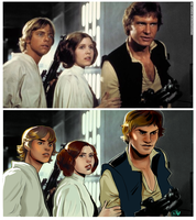 Star Wars by Mo0gs