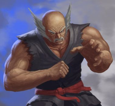 Tekken Heihachi Final by IanBrewer