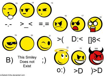 Smiley Chart - 2 by Spikeh-Kirby