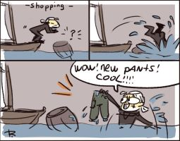 The Witcher 3, doodles 137 by Ayej