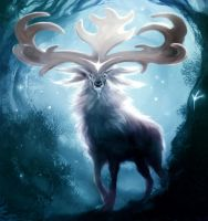 Great Elk by laclillac