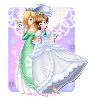 Rosalina and Tracy by CoconCrash