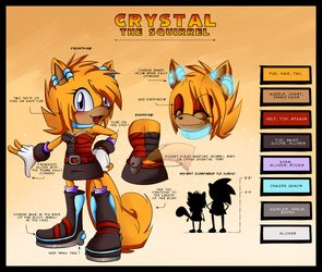 Reference: Crystal Squirrel by Snowify
