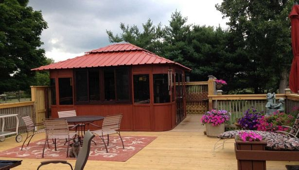 Spa and Gazebo by westviewmfg