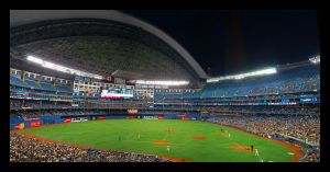 Rogers Center Panorama 1 by martinshiver