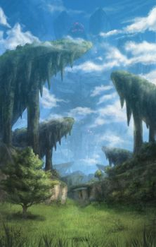 Xenoblade Chronicles by Dice9633