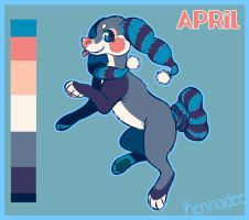 Reference Sheet: April by Kennaleecat