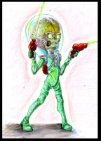 MARS ATTACKS by 0007metroid