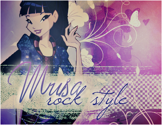 Musa Rock Style by BloomciaArt