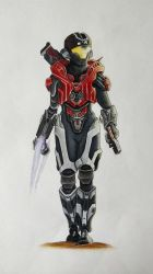 Female Spartan Halo by TheClumsyFellow