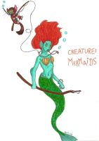 Creature: Mermaid by Fosterpython