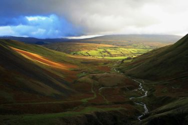 Cautley Spout View by samuelelliswilson