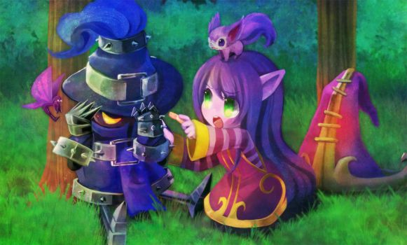 League of Legends:Lulu want to bandaid him by MizoreAme